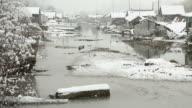 Winter Snow, Finn Slough, Richmond video