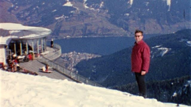 Winter sport in the 1960s (vintage 8mm film) video