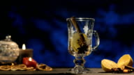 Winter Time, Hot White Wine Punch, Gluehwein video