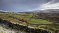 Wintry Day Near Colne, Lancashire - Time Lapse video