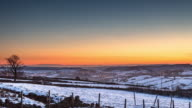 Wintry Rural West Yorkshire - Time Lapse video