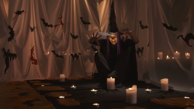 HD: Witch Conjuring A Spell video
