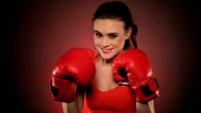 with boxing gloves video