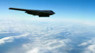 B-2 with Bunker Buster video