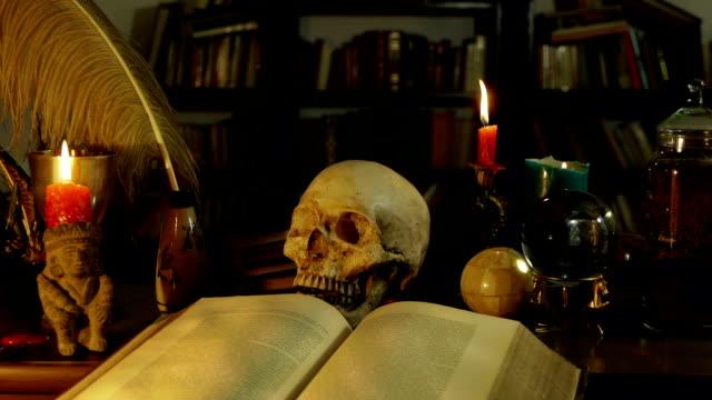 Wizards Study Desk (HD) video