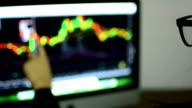 woman  analysis stock video