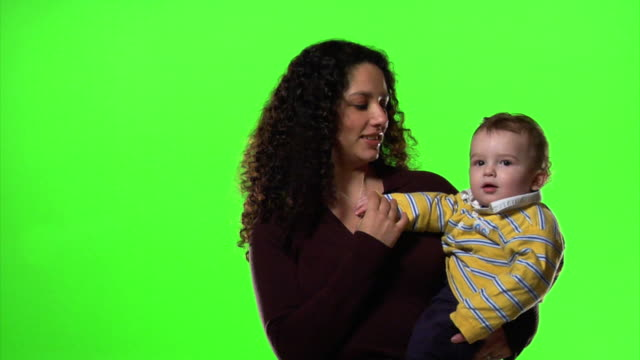 Woman and child video