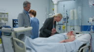 DS Woman and her husband visiting her father in the ICU video