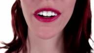 Woman Blows a Kiss video