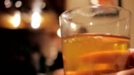 Woman Drinks a Pint of Beer at a Micro Brewery video
