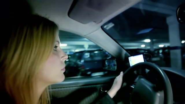 Woman Driving video
