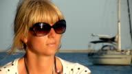 HD: Woman Enjoying The Seaside View video