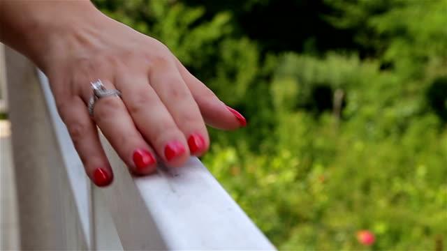 woman hand video