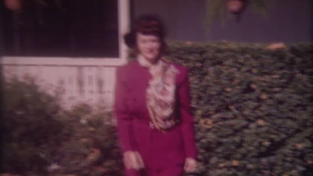 Woman in Fur 1940's video