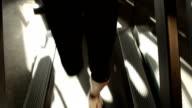 JIB: Woman in gym video
