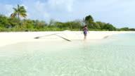 Woman in Maldives video
