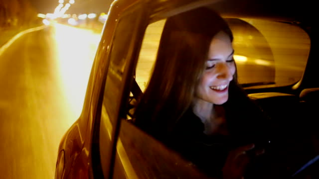 Woman in the car video