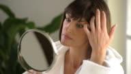 Woman In The Mirror; HD 720, Photo JPEG video