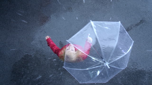 Woman In The Rain video