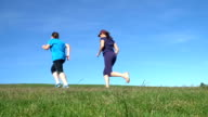 Woman Jogging video