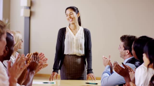 Woman Leading Meeting video