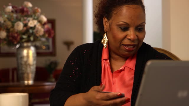 Woman Makes Online Purchase - MCU video