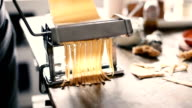 woman making pasta at home video