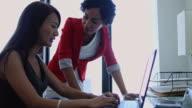 Woman Mentoring Colleague video
