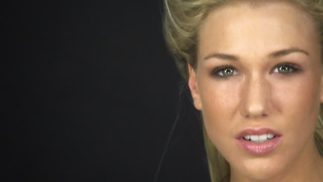 woman posing video