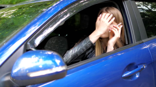 Woman Preening While Looking In The Mirror video