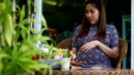Woman pregnant video