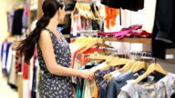 Woman shoplifing video