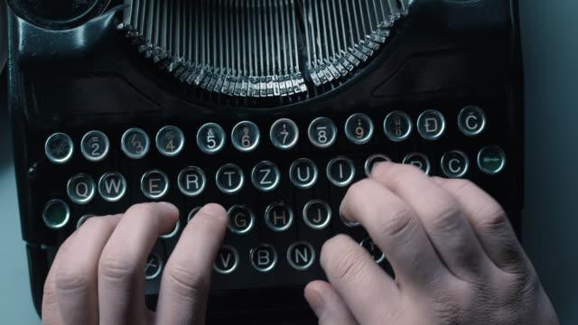LD woman ten finger typewriting video