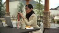 Woman upset at phone call video