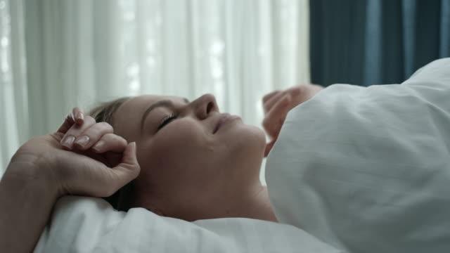Woman waking video