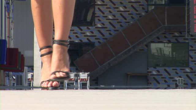 HD: Woman's Legs video