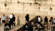 Women and Men at the Western Wall video