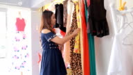 Women Having Fun Shopping In Boutique video