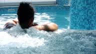 Women in the spa (HD) video