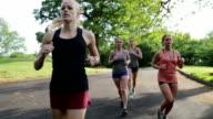 Women Jogging video