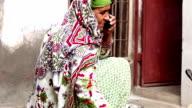 Women Making Chapatti on Mud Stove video