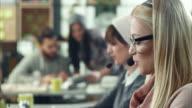 Women Working In Call Center video