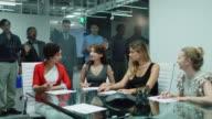 Women Working Together Ignoring Men video