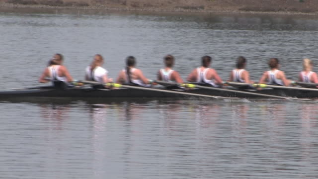 Women's 8-Person Rowing Team video