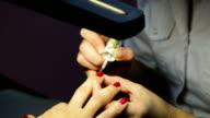 Women's manicure, Nail Polish video