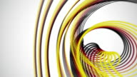 Wonderful german color stripe animation for sport events, loop HD video