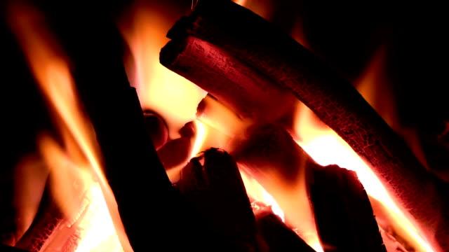 Wood coal video