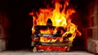 Wood Fire Flames video