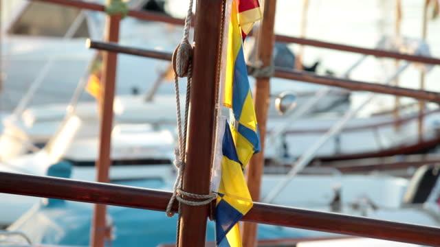 Wood mast. video