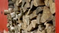Wood Pile video